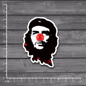 Spoof of Che Guevara DIY Graffiti Scrapbooking Stationery Graffiti Sticker Decor For Album Diary Scrapbooking Laptop[Single] image