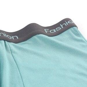 Image 5 - Marca Boxer Modale Boxer Degli Uomini Biancheria Intima Modale shorts Ropa interior Bragas In Microfibra di Vendita Calda Cuecas Hombre 6M19