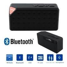BCMaster Mini Boombox Speaker Bluetooth Sound portatil square Speaker for Xiaomi Phone PC Black