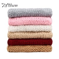 KiWarm 1 Pcs 120x150cm Knitted Blankets Throws Blanket Ultra Plush Decorative Throw Blanket Queen Bedroom Sofa