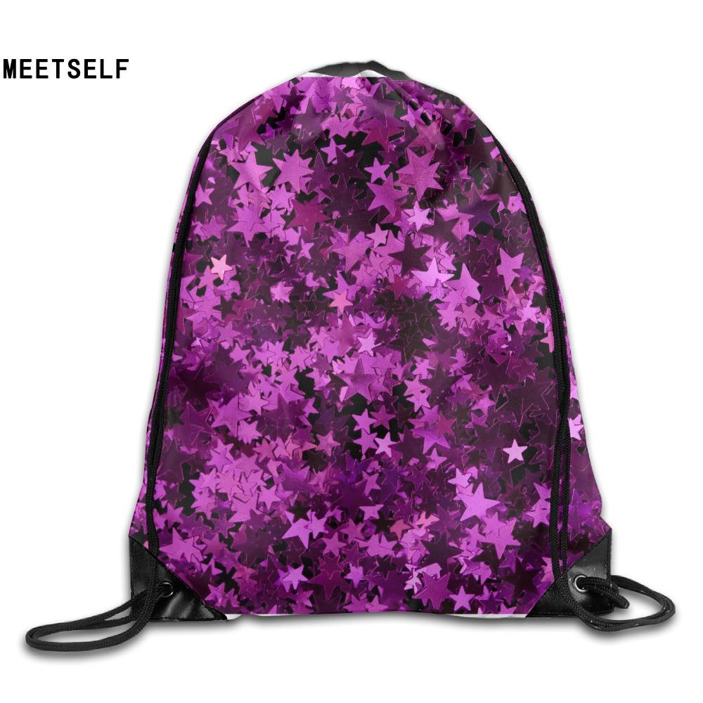 SAMCUSTOM 3D Print 7B8rwox Shoulders Bag Women Fabric Backpack Girls Beam Port Drawstring Travel Shoes Dust Storage Bags