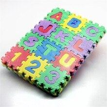 36 шт. Детские Дети Раннего Образовательные Игрушки Мягкие Игровые Коврики для Ребенка Младенческой Детские Игрушки Подарки