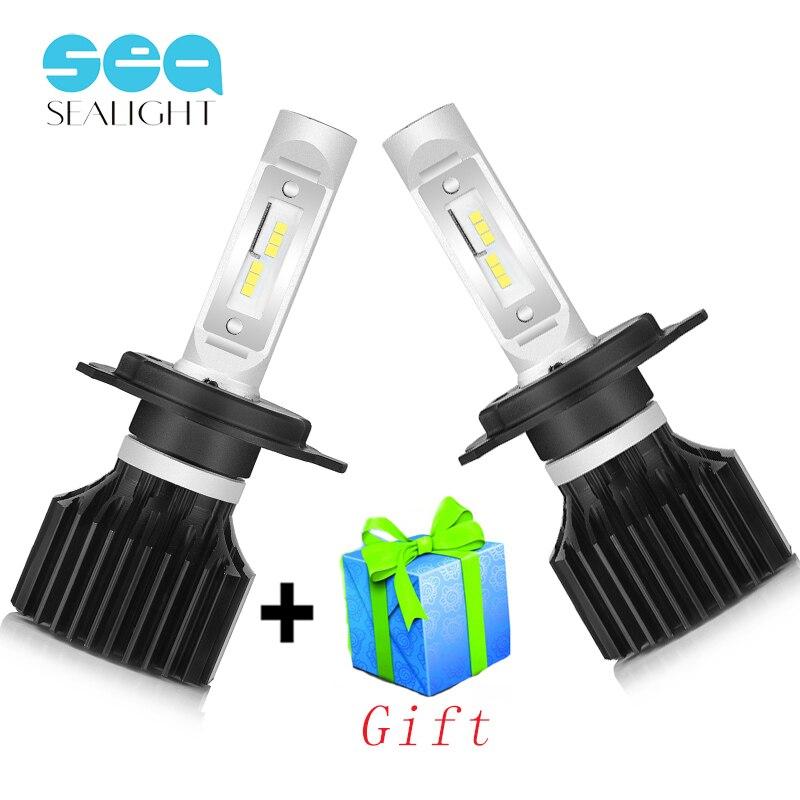 SEALIGHT H4 LED H7 LED H8 H9 H11 H1 9005 9006 Car Lights Headlight Bulbs Hi