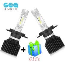 SEALIGHT H4 LED H7 LED H8 H9 H11 H1 9005 9006 Car Lights Headlight Bulbs Hi-Lo Beam 12v 80W 10000LM 6000K Auto Headlamp