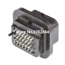 2 PCS 26 Pin Female Connector FCI Replacement ECU Plug Terminal 3-1437290-7 26P