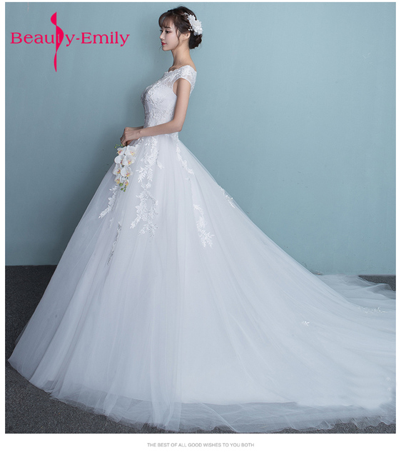 Summer Exquisite lace up ball gowns high quality appliques Wedding ...