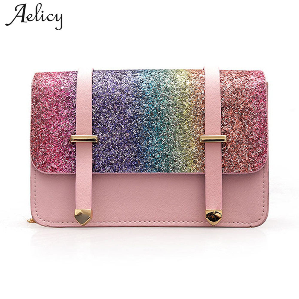 Aelicy 2018 Fashion Women Evening Clutches Bag Female Crossbody Bag Ladies Envelope Purse For Party With Chains Handbags Ladies
