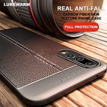 Fashion Shell For Huawei Honor 20 Carbon Fiber Soft TPU Silicone Brushed Anti-Skid Back Cover Honro I Pro Phone Case