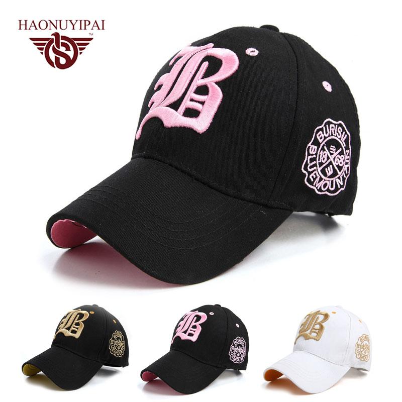 soft top baseball caps front cotton font letter men women cap colors