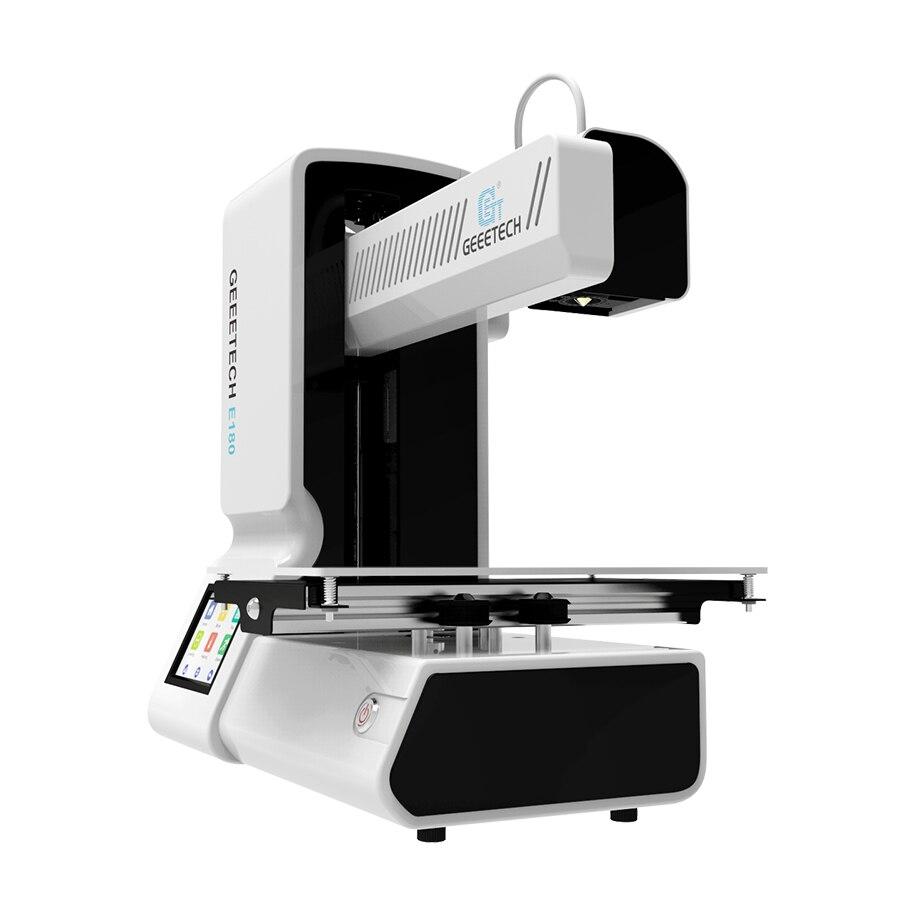 Geeetech Open Source Haute Précision 3D Imprimante E180 Wifi Connectivité Full Color Touch Écran 1.75mm 0.4 m Date 3d imprimantes - 6