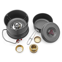 BULIN BL100 Q1 Mini Portable Outdoor Stove Camping Alcohol Gas Burners for Hiking Picnic Dual use