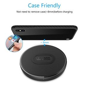 Image 5 - NILLKIN 10 W מהיר צ י אלחוטי מטען עבור iPhone X/8/XS/XR מהיר טעינה אלחוטי עבור סמסונג S8/הערה 8/S9 USB טלפון מטען Pad