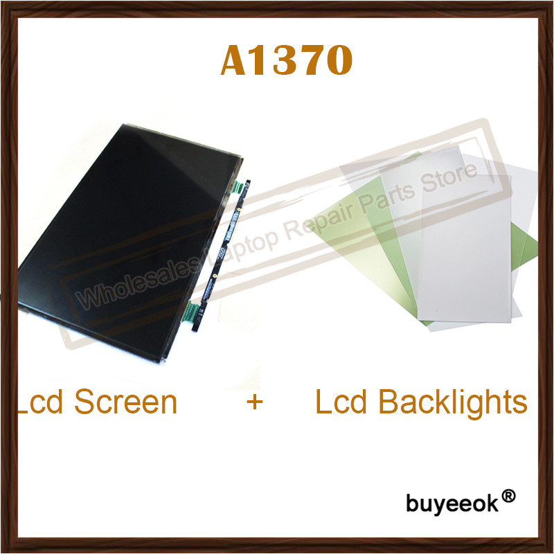 Original New A1370 LP116WH4 TJA1TJA3 B116XW05 V 0 LCD Screen LCD Backlights For Apple Macbook Air