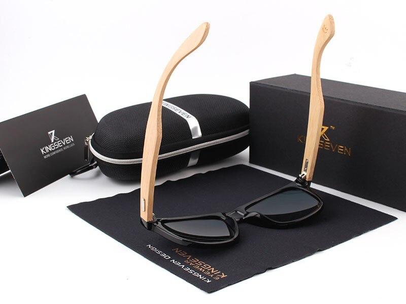 2016 New Bamboo Polarized Sunglasses Men Wooden Sun glasses Women Brand Designer Original Wood Glasses Oculos de sol masculino 17