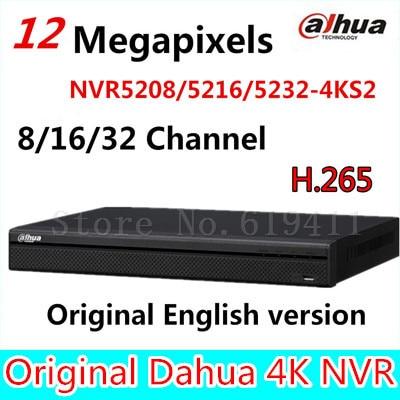 bilder für Original DaHua 4 Karat Video Surveillance NVR NVR5208-4KS2 NVR5216-4KS2 NVR5232-4KS2 8/16/32 Kanäle H.265