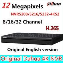 Оригинал DaHua 4 К Видеонаблюдения NVR NVR5208-4KS2 NVR5216-4KS2 NVR5232-4KS2 8/16/32 Каналов H.265