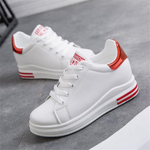 New womens shoes explosion models white increased students sneakers casual
