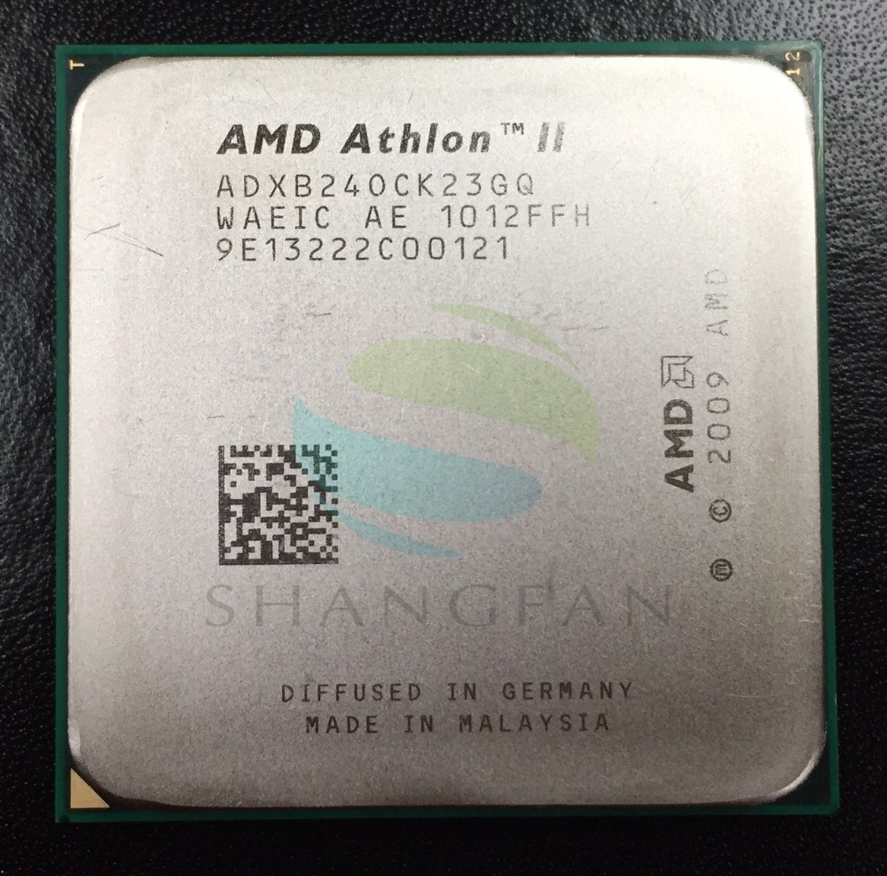 AMD Athlon X2 240 X2-240 2.8 GHz Dual-Core CPU Processeur ADX240OCK23GM ADX240OCK23GQ Socket AM3 938pin