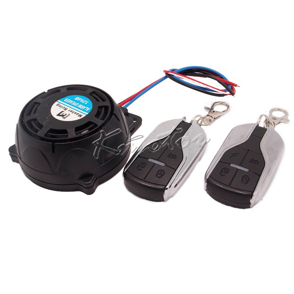 125dB Mini Motorcycle Scooter Bike Alarm Speaker 9-12v Anti-theft Alarm Security System For Honda Suzuki Yamaha Kawasaki