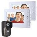 """Бесплатные DHL 7 """" TFT LCD HD дверной звонок с камеры безопасности дома монитор беспроводных домофонные дверной звонок домофон"""
