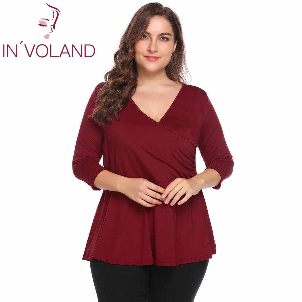 Detail Feedback Questions about IN VOLAND Large Size 4XL Women T ... d731ec2c27a9