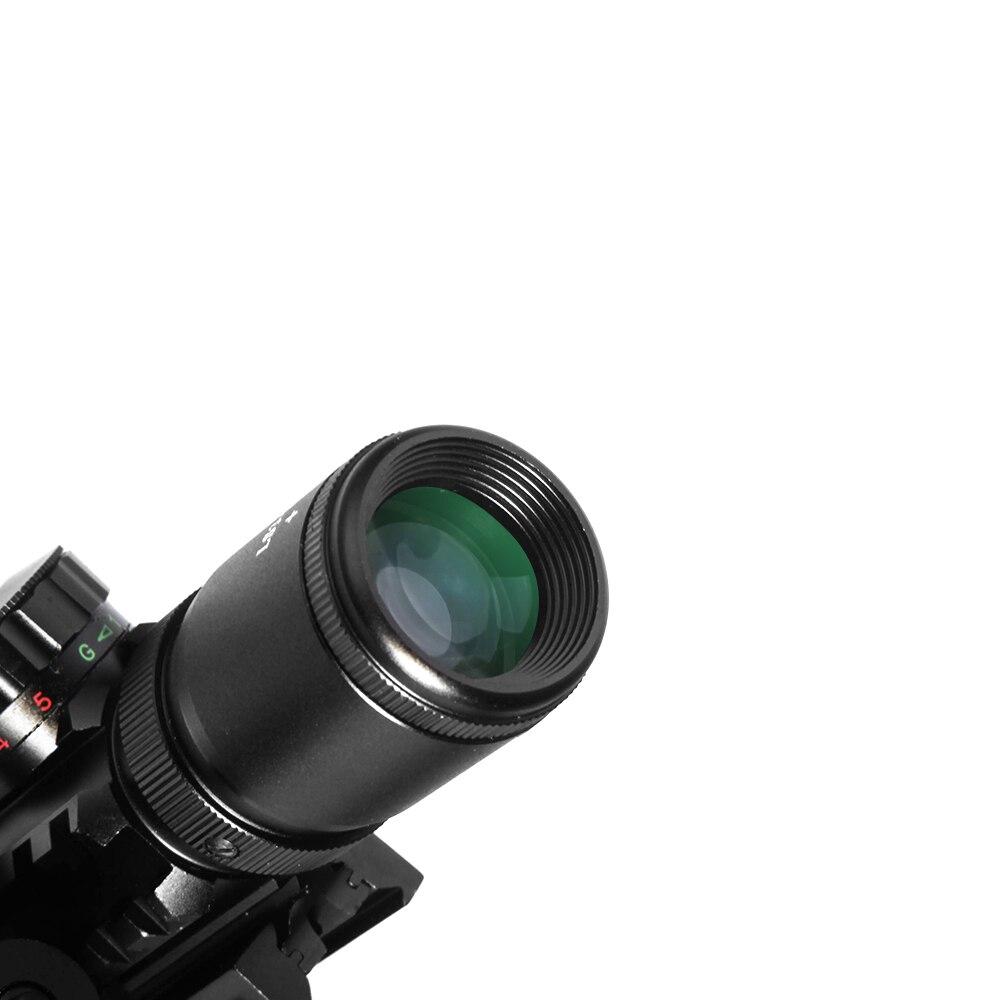 Image 5 - LUGER M9 3 10x42EG тактическая оптика рефлекторный прицел Пикатинни Вивер крепление красный зеленый точка охотничьи прицелы с красным лазером-in Оптические прицелы from Спорт и развлечения on AliExpress - 11.11_Double 11_Singles' Day