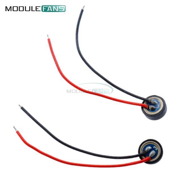 Online Shop 5PCS 4*15mm Electret Condenser Microphone MIC Capsule 2