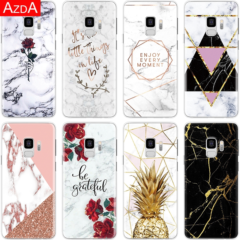 Cover For Core Marble S6-Edge Note 8 Grand-Prime S10e Plus Samsung Galaxy S5 Mini Luxury