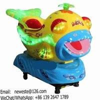 Indoor Amusement Park Plastic Kids Rides Amusement Machines