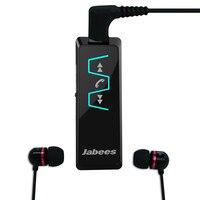 Original Jabees IS901 Bluetooth Headset Stereo Collar Clip Bluetooth Earphone Receiver Wireless Headphones Earphone Music Player