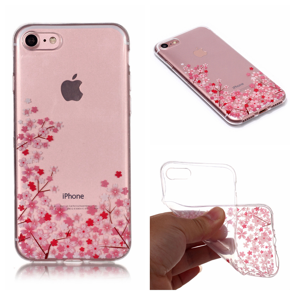 For Sony Xperia XA2 Case Silicone Transparent Clear Soft TPU Cover For Nokia 7 Plus Case Cover Phone Cases For iPhone 7 Case B67