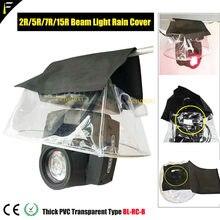 5r 7r 15r 17r 350w moving beam luz à prova de chuva capa sobreposição casaco ao ar livre sharpy feixe luz chuvoso cobrindo
