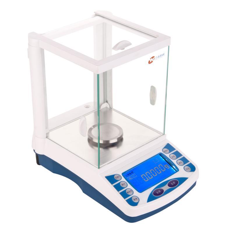 Электронный баланс 200 г 0,1 мг Аналитическая лаборатория взвешивания Весы Внешняя калибровка электромагнитный датчик