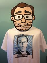 Charles Hawtrey / Carry On Films T-Shirt (Oh Hello) Print T Shirt Mens Short Sleeve Hot Tops Tshirt Homme