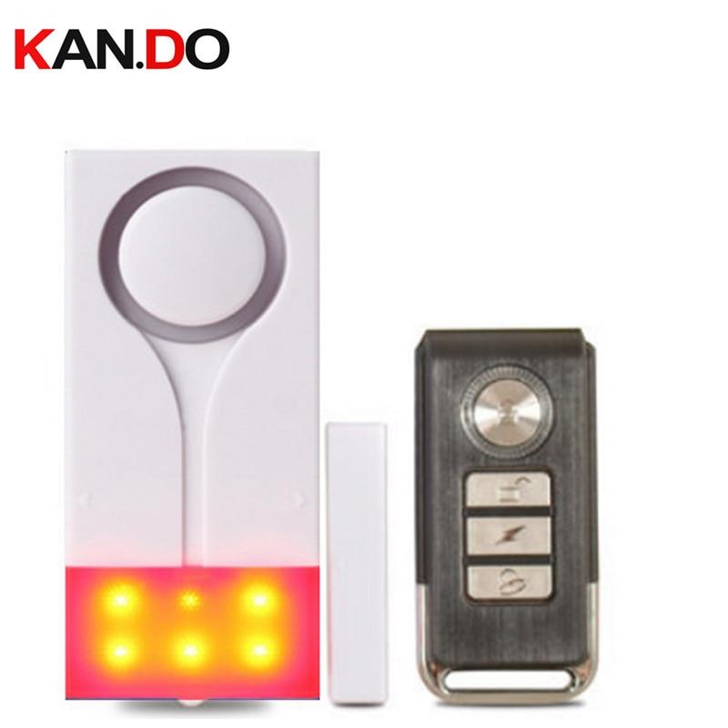 vibration+door sensor alarm dual function beeper shining+siren alarm door security alerter remote control vibration alarm vibration sensor