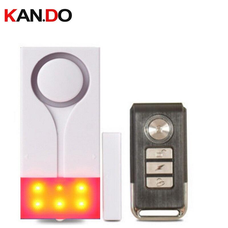 vibration+door sensor alarm dual function beeper shining+siren alarm door security alert ...