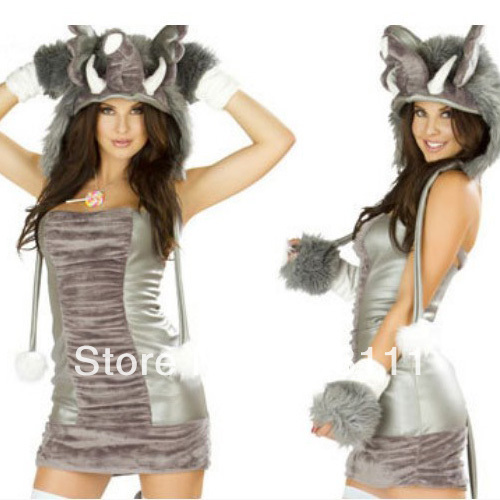 Halloween Christmas Elephant dress Cat Women wolf girl cosplay costumes clothing Role playing party game uniform on Aliexpress.com | Alibaba Group  sc 1 st  AliExpress.com & Halloween Christmas Elephant dress Cat Women wolf girl cosplay ...