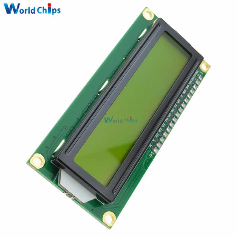 LCD1602 1602 Monitor Màn Hình Màu Xanh Nhân Vật LCD Hiển Thị Màu Xanh/Vàng Blacklight TFT 16X2 LCD Module DC 5 V Trắng Mã cho Arduino