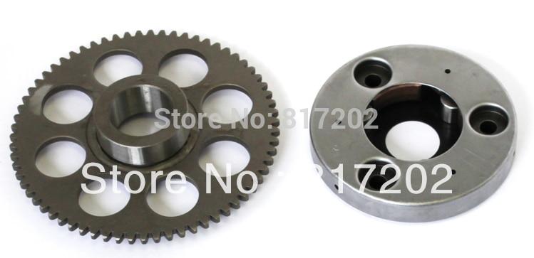 Motorfiets GN250 GN 250 GZ250 TU250 Starter Koppeling Montageset Eenrichtingslager inclusief buitenhuis Ook geschikt voor GZ250