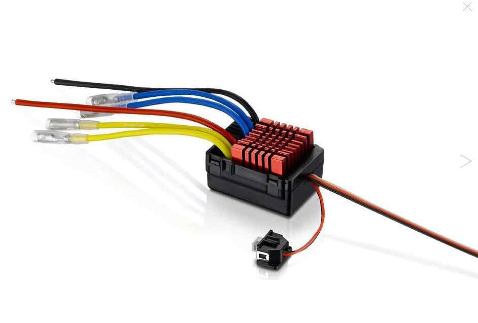 Оригинальный Hobbywing QuicRun WP 880 80A двойной матовый водонепроницаемый ESC контроллер скорости для 1/8 RC автомобиля
