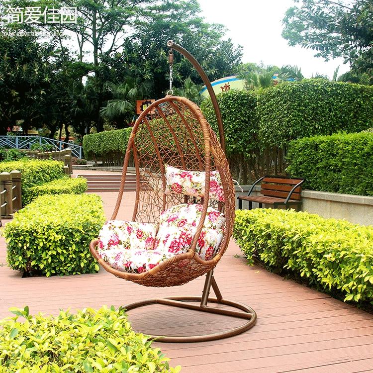 15 rattan basket swing hanging chair indoor rocking wicker ...
