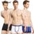 Homens venda quente masculino confortável calcinha cueca Boxer Sexy cor sólida de algodão Man Underwear Boxer cueca franja