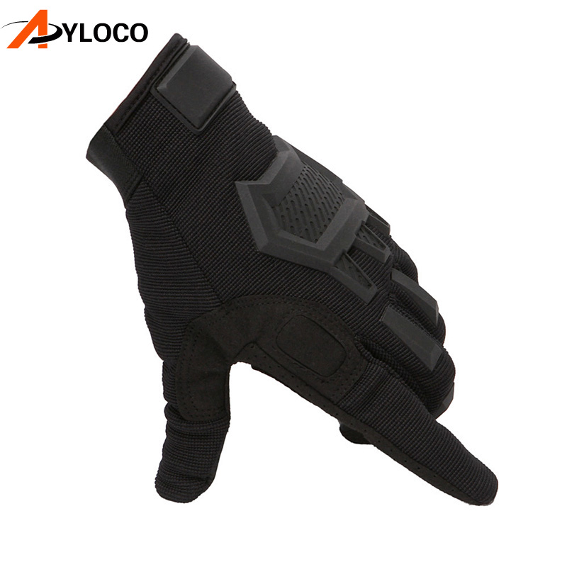 Купить с кэшбэком Touch Screen Tactical Gloves Army Military Combat Airsoft Outdoor Hiking Climbing Shooting Paintball Full Finger Gloves