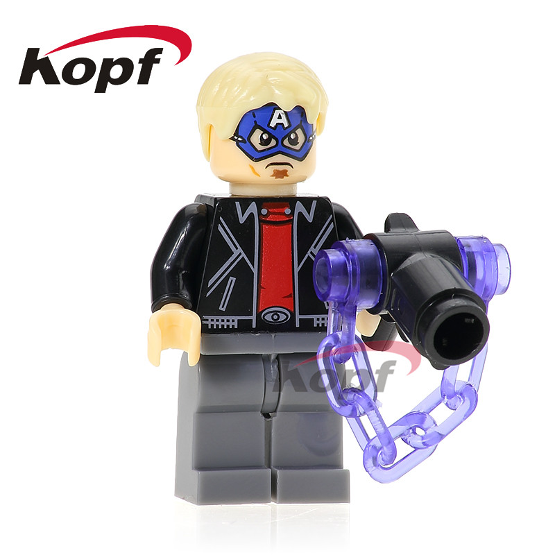 Single Sale Masked Robber Game Spiderman Vulture Deadpool Spider-Man Building Blocks Super Heroes Bricks Kids Gift Toys XH 681