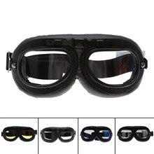 Motorcycle Bike Bicycle Skiing Goggles Motocorss Outdoor Sports Snowboard Glasses Helmet Protective Eyewear Anti UV Cafe Racer