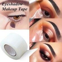 1 рулон, профессиональная лента для теней для век, натуральная лента для подводки, лента для макияжа глаз, наклейки для макияжа, лента для макияжа