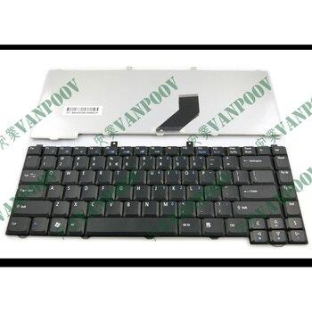 Teclado negro para ordenador portátil, para Acer Aspire 3100, 5100, 1670, 3030,...