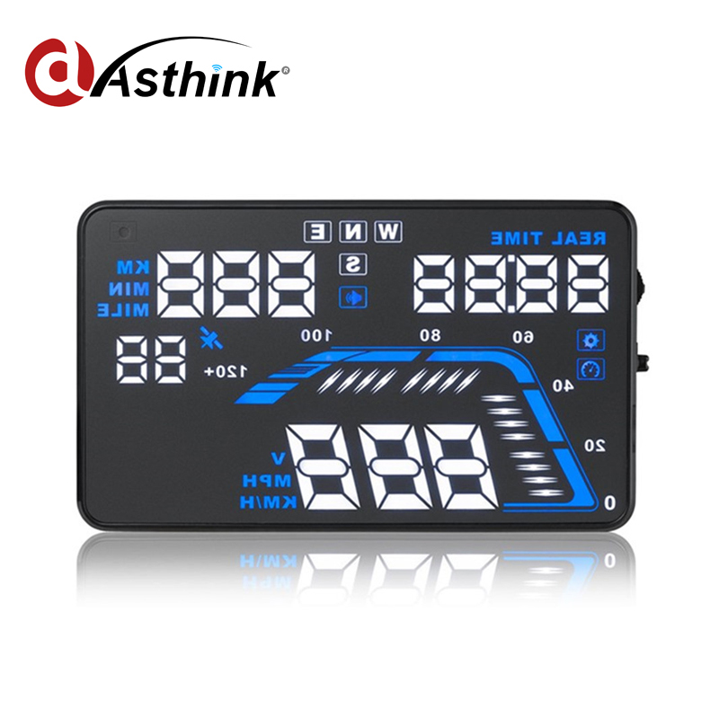 Universal Digital car speedometer Fuel Consumption Q7 5.5