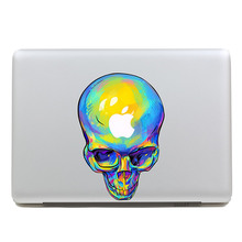Removable DIY Avery terror colored drawing human skeleton tablet and laptop computer sticker for laptop,260x270mm