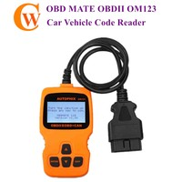 OBDMATE OM123 OBDII Car Vehicle Code Reader Auto Diagnostic Scan Tool for 2000 or later US European Asian OBD2 Protocol Vehicle
